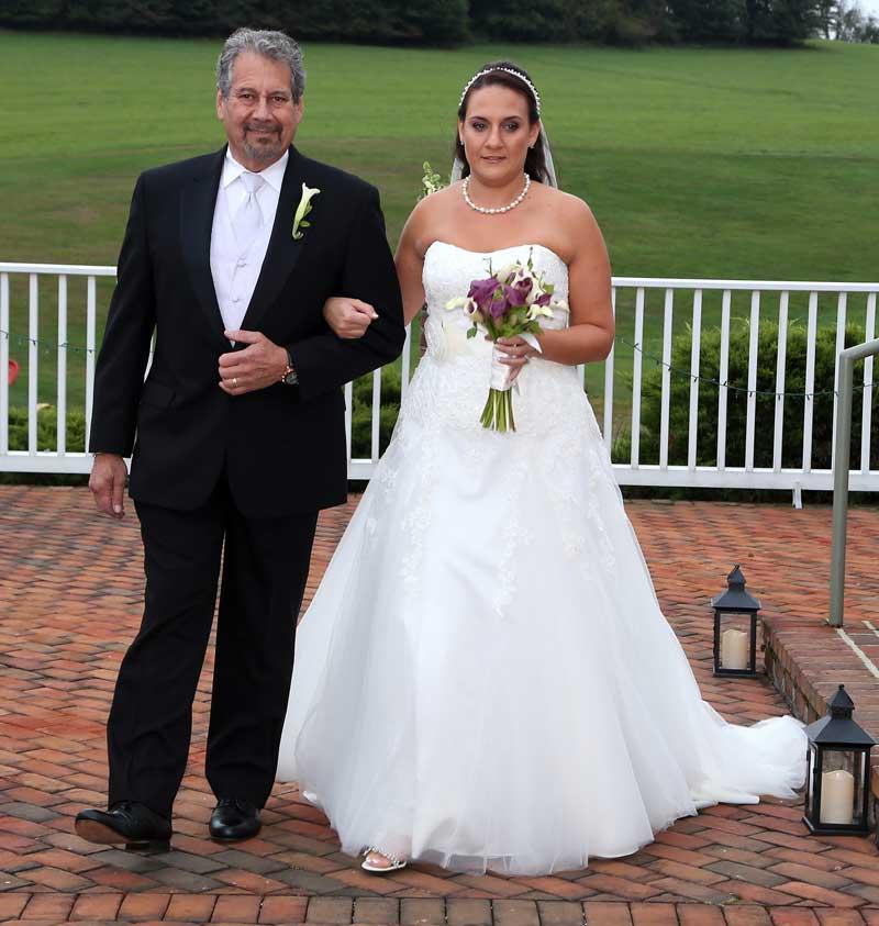 Bride & Father Entrance