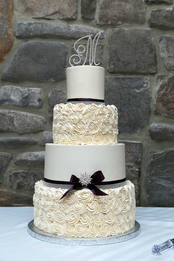 Angela & Nicholas wedding Cake