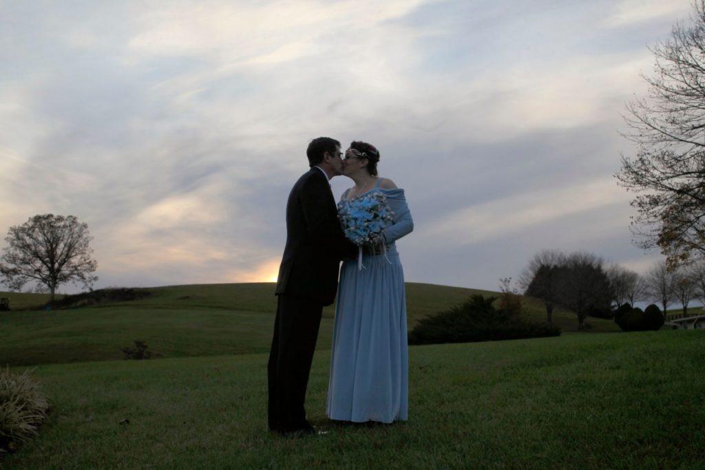 Charles & Brenna's Outside Wedding Ceremony