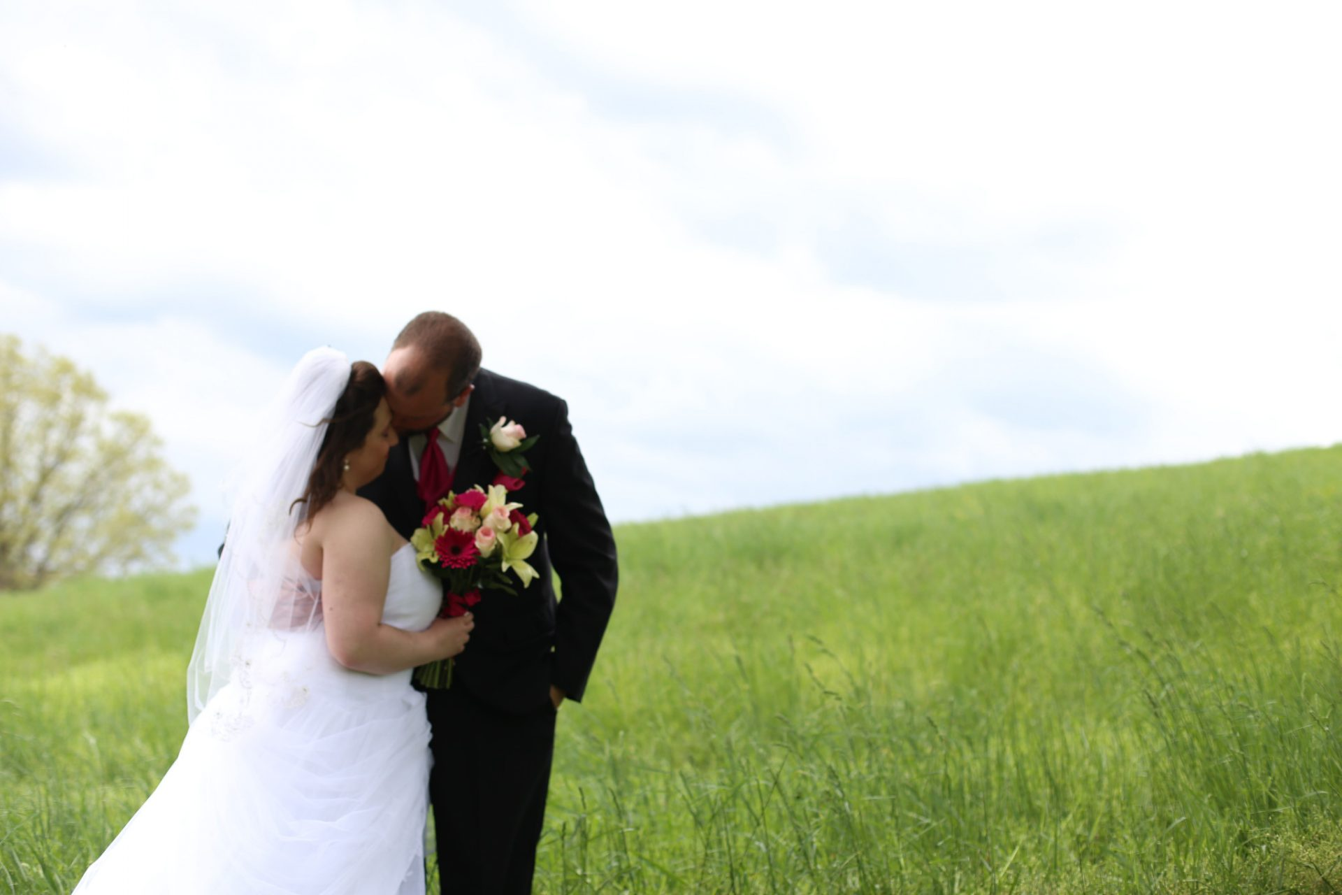 Spring wedding in Maryland