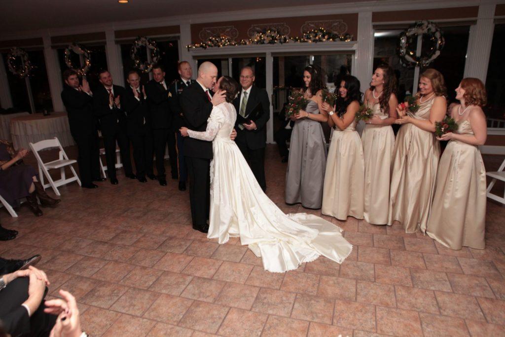 Danielle and Matthew's Indoor Wedding in Frederick