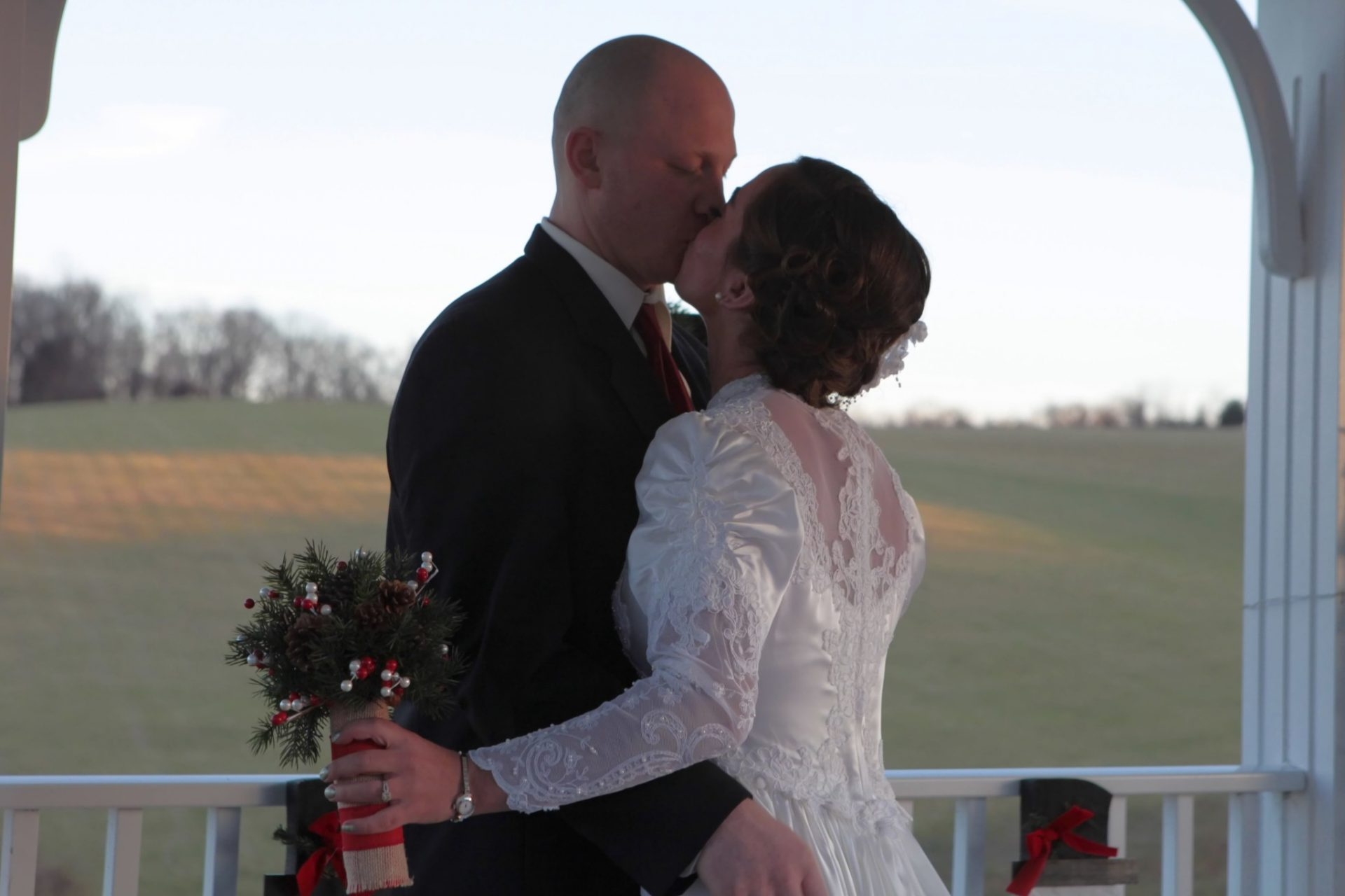 Winter wedding venue in Frederick Maryland