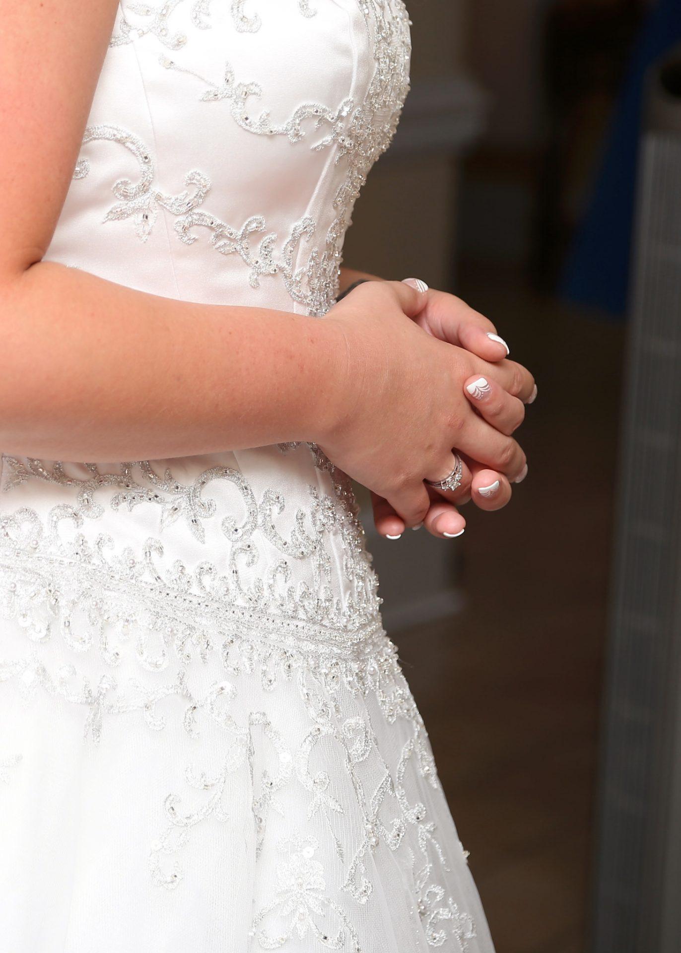 bride's manicure