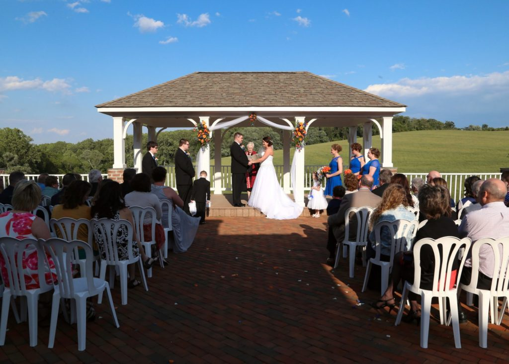 Travis & Jessica's Outdoor Wedding in Maryland