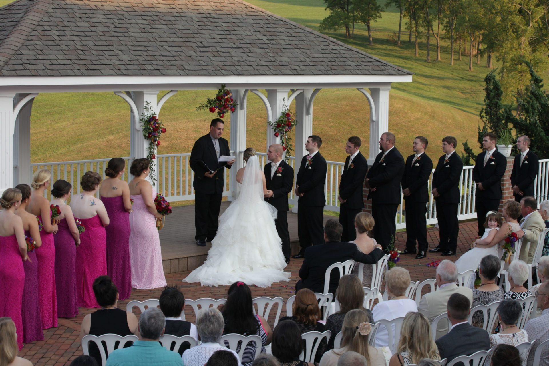 Matt & Olivia's Summer Wedding in Maryland with Fireworks • Morningside Inn