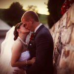 Fall wedding ceremony in Frederick Maryland