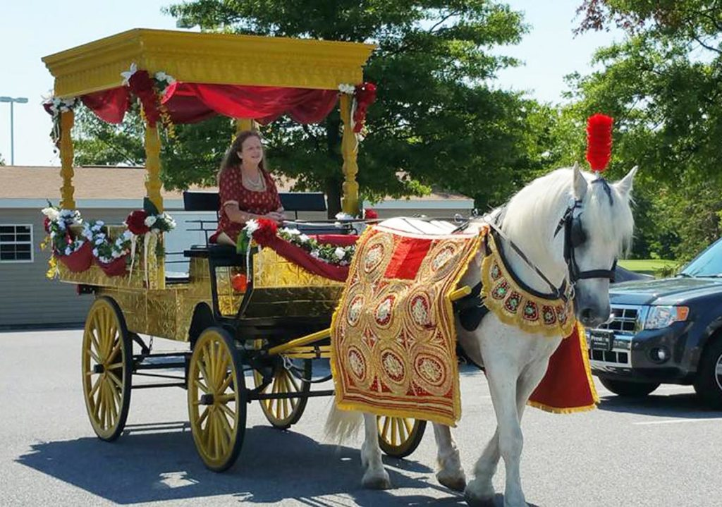Horse carriage rental Frederick MD
