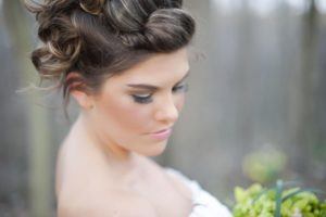 Wedding hair and makeup services