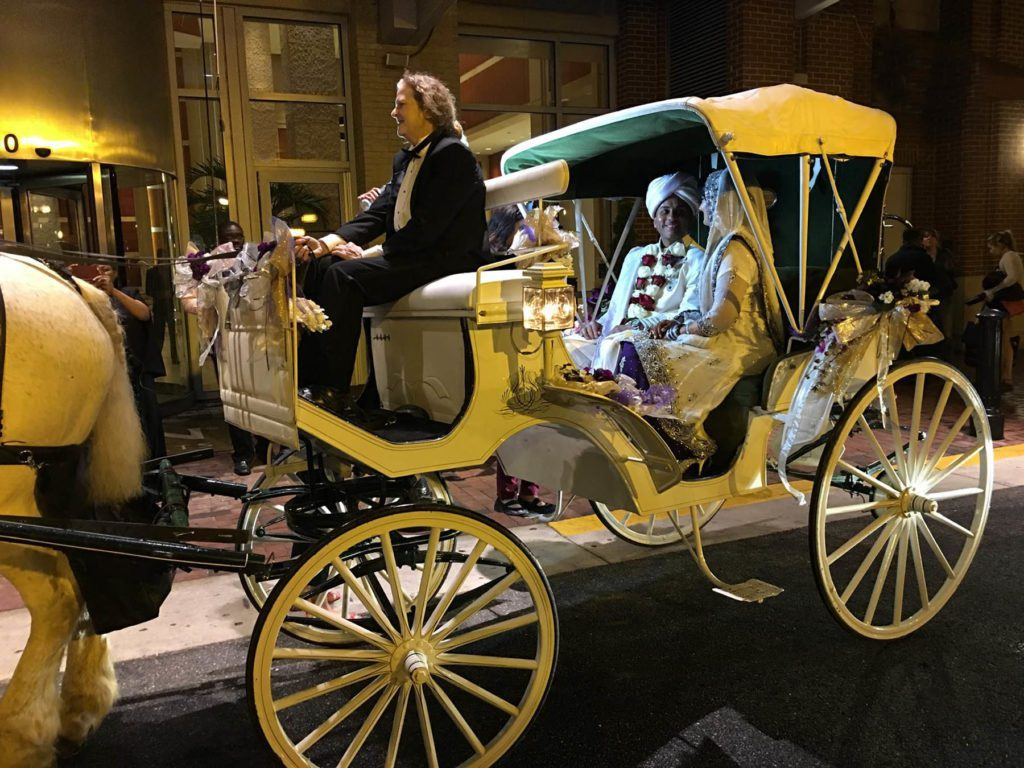 Horse Carriage for wedding rental