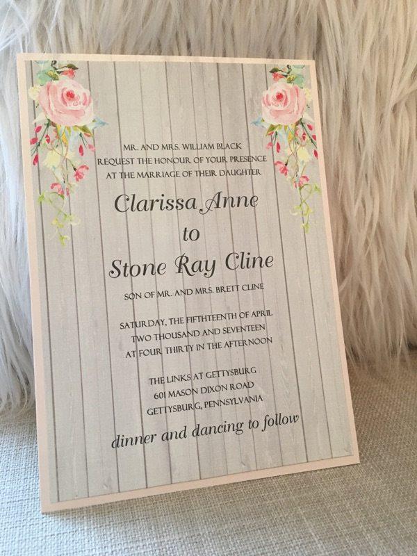 wedding invitation design frederick md