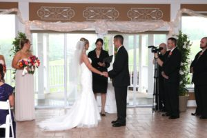 Indoor wedding site at Morningside Inn