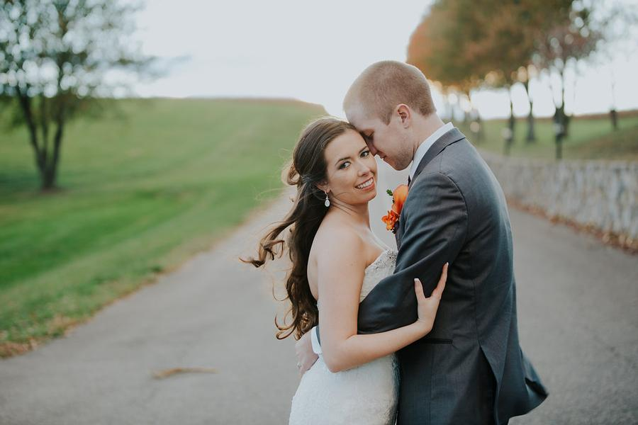 Anna and Seth held their fall wedding ceremony and reception at Morningside Inn, located on 300 private acres in Frederick Maryland