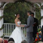 outdoor country wedding at Morningside Inn