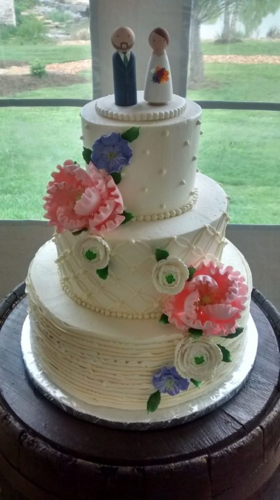 Wedding cake bakery in Frederick MD