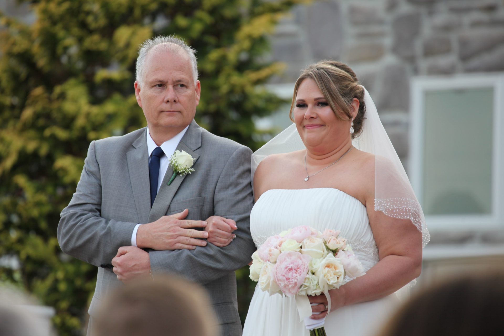 Bride with father of the bride