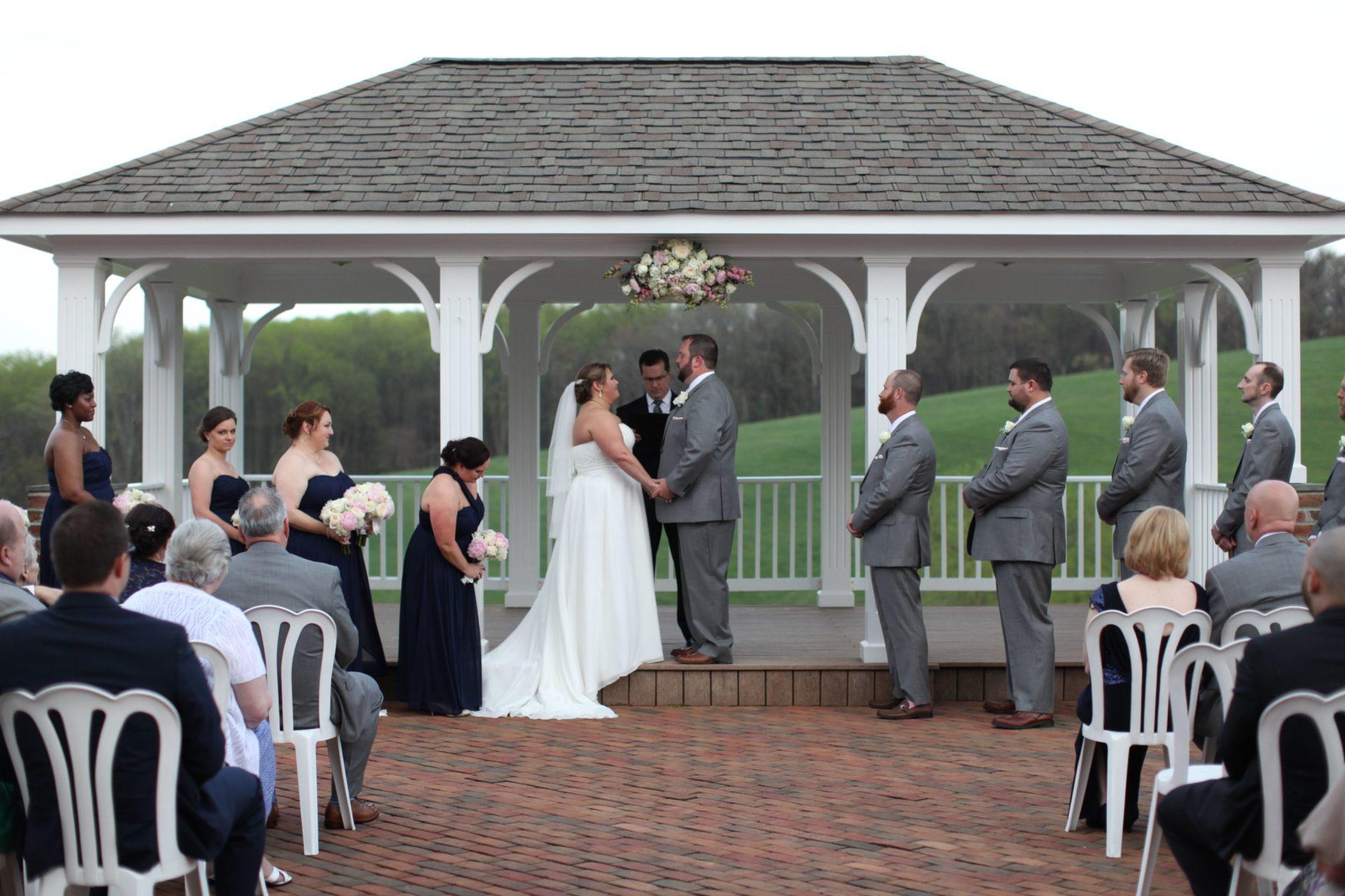 Wedding pavilion Sam & Amy's Wedding April 15 2017