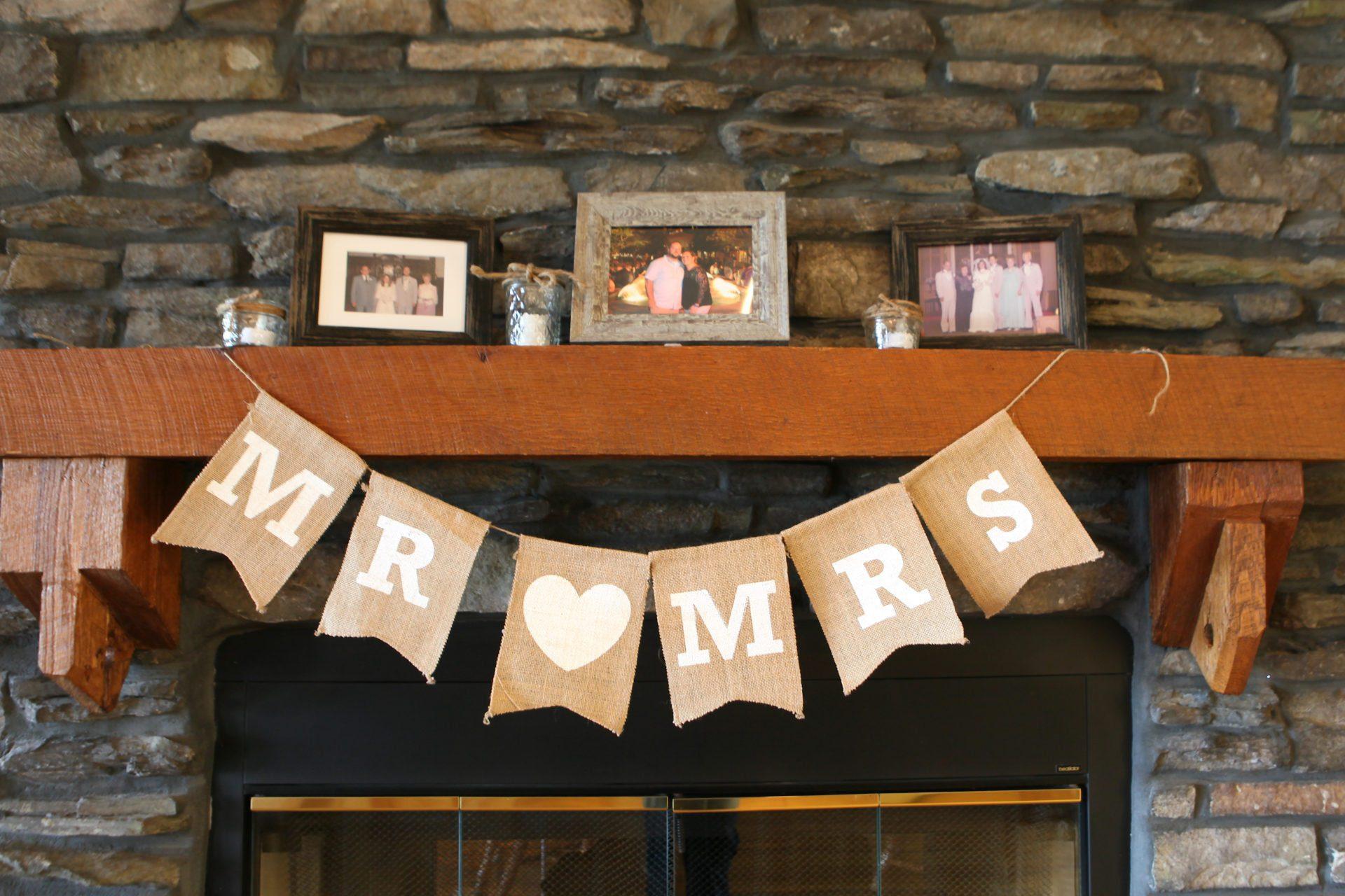 Wedding banner decoration