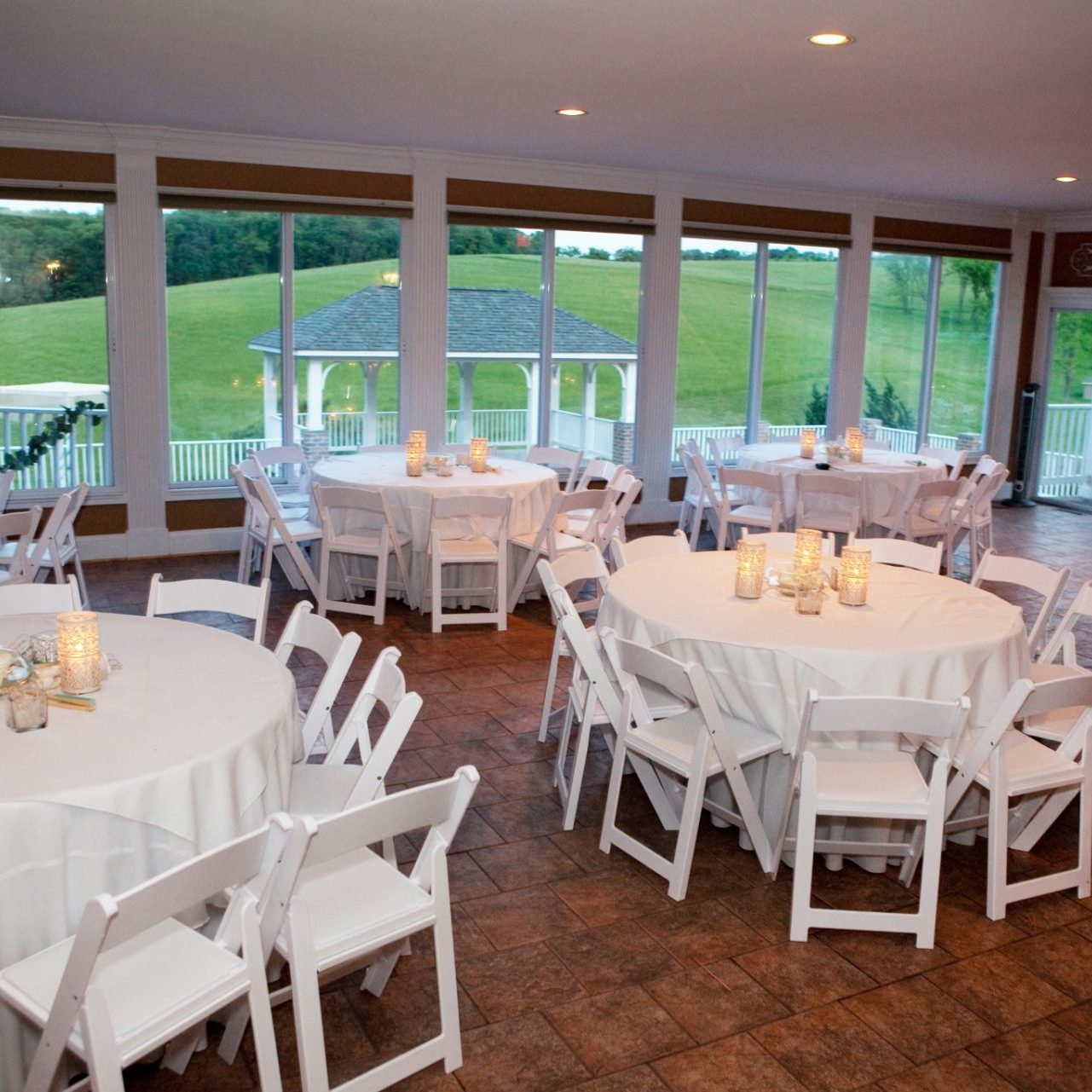 Reception venue in Maryland with plenty of natural light and seating for 200 guests